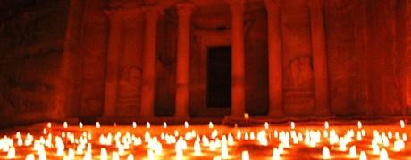 Petra la nuit